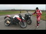 2010 Kawasaki Z1000 vs Triumph Speed Triple